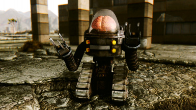 Skynet Fallout 1 and 2 Classic Robobrain model (MODDERS RESOURCE)