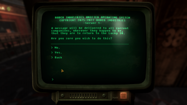 Dismiss to Lucky 3 - Companion Terminal - Remade