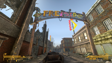 Extra Freeside gate not included.