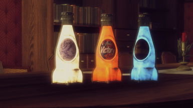 Old GLowing Cola