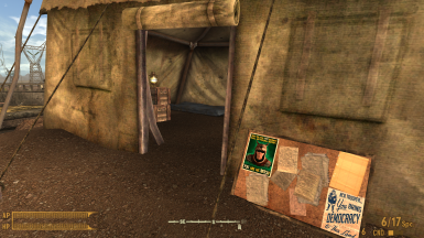 more detailed NCR tent