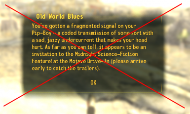 Disable DLC Loaded Messages