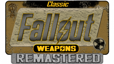 Classic Fallout Weapons Remastered
