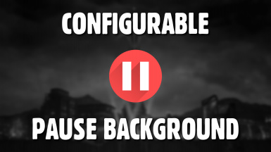Configurable Pause Background