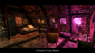 Courier's Cozy Shack