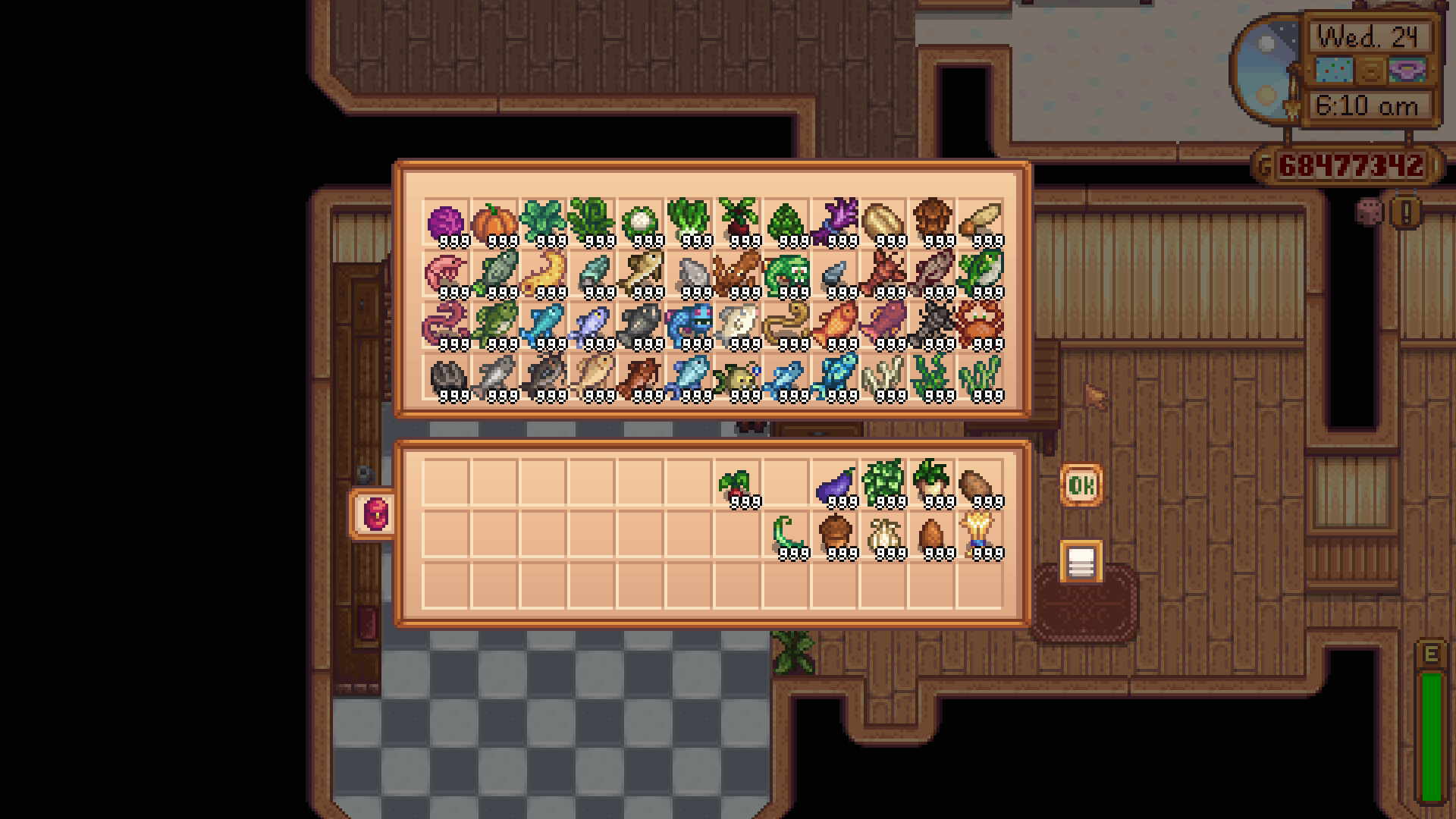 23 Expanded Fridge For Stardew Valley