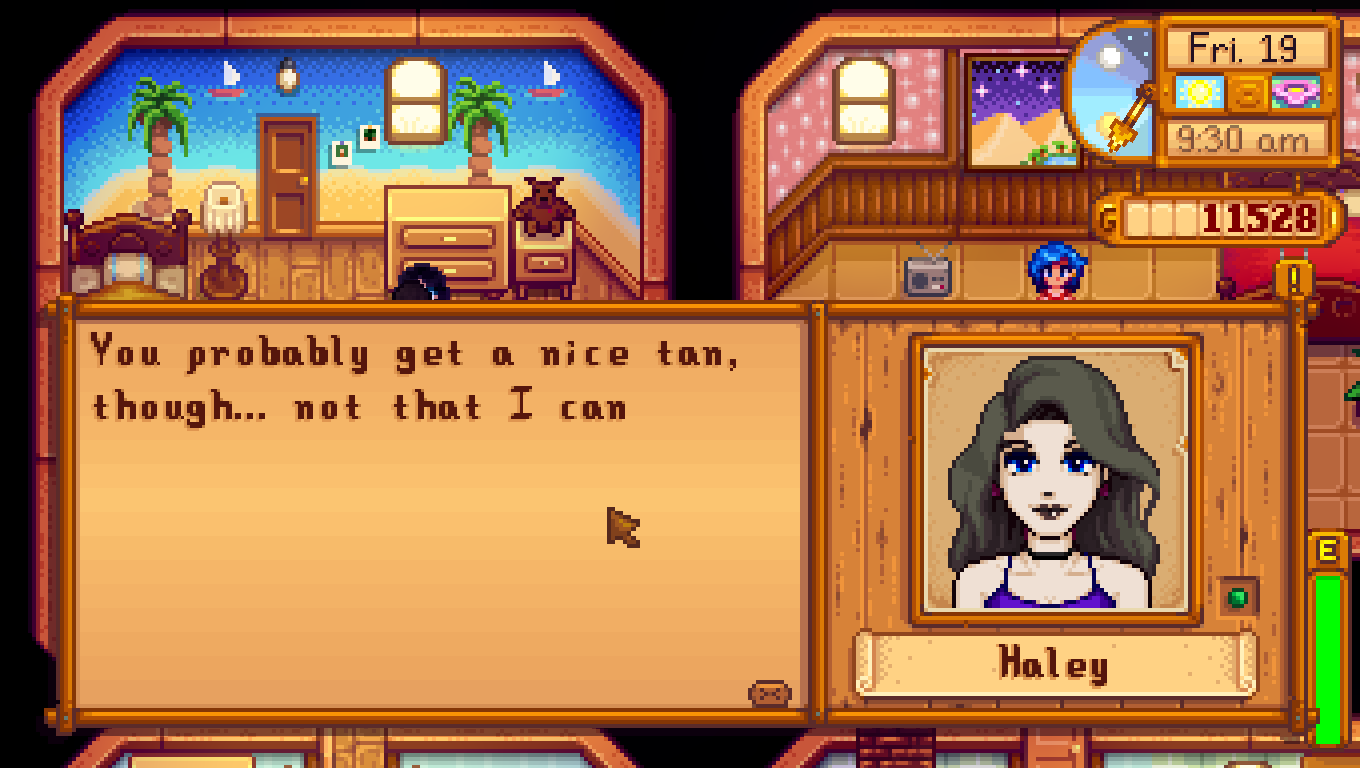 how to talk to haley stardew valley