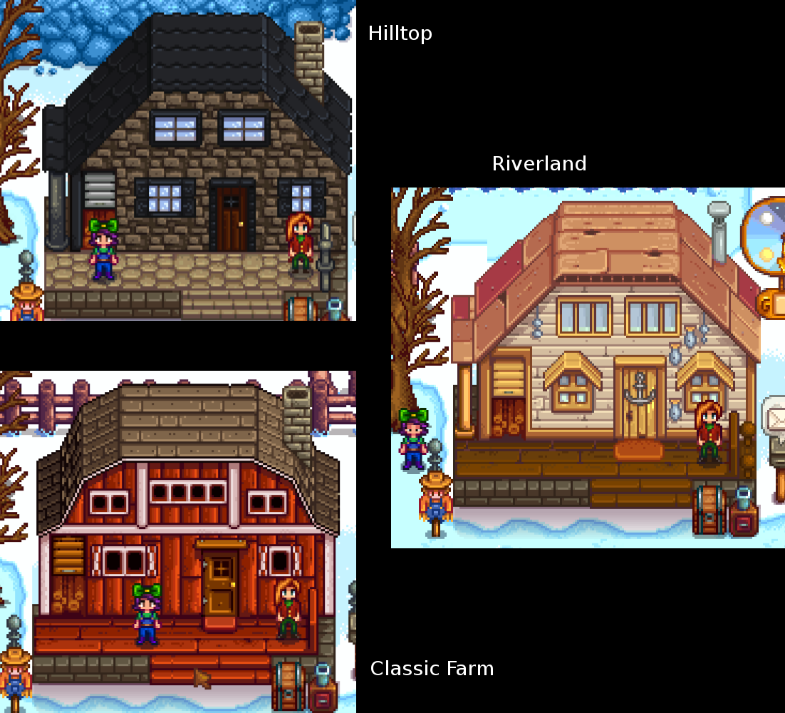 House Customisation At Stardew Valley Nexus Mods And Community