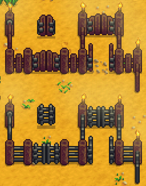 how to open gates in stardew valley