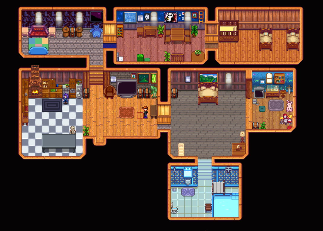 Add A Room And Attic Version 1 1 Compatible At Stardew