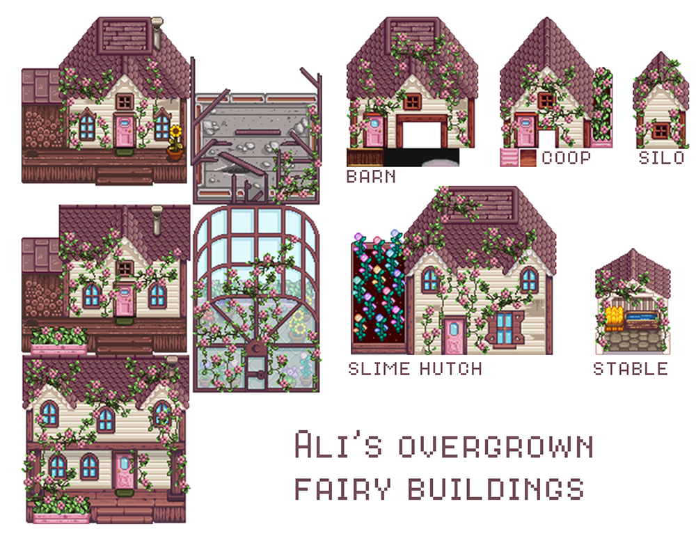 Released Ali S Secret Forest Farm Map And Buildings