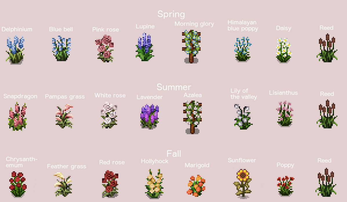 how to get flowers in stardew valley