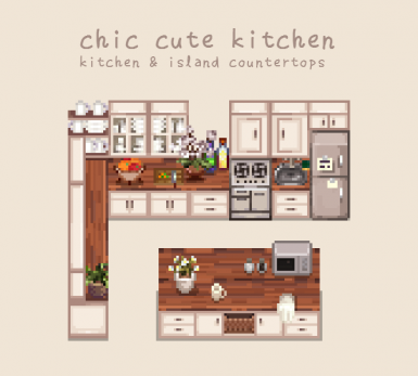 Chic Cute Kitchen At Stardew Valley Nexus Mods And Community