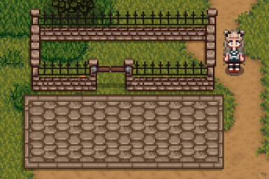 Grey fence preview