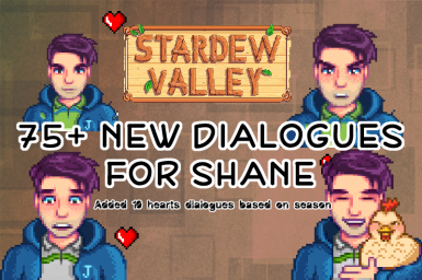 Over 75 New Dialogues for Shane