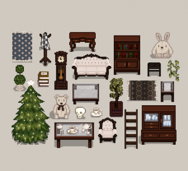 Mi's Classy Victorian interior set inspired by eemie