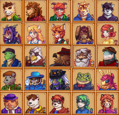 Anthro Characters Continued - (Furry Overhaul Mod)
