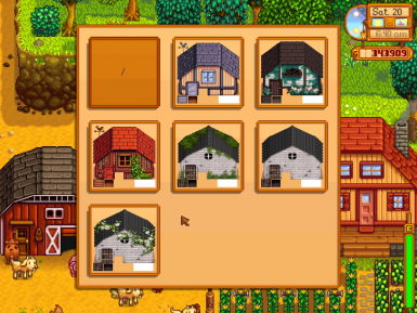 stardew valley how to move buildings