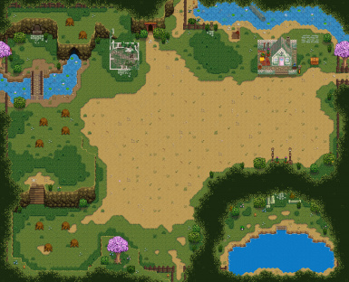 Ali's Foraging Map