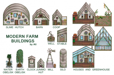 Ali's Modern Farm Buildings