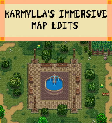 Karmylla's Immersive Map Edits (NPC Maps - Before and After Joja Ruins) - 1.3 beta available