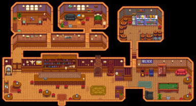 Saloon - picture needs to be updated!