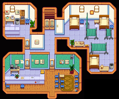 Hospital - picture needs to be updated!
