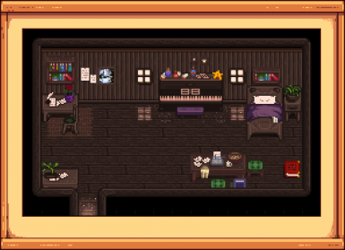 A Toned Down Stardew Valley - Elliott House Tiles