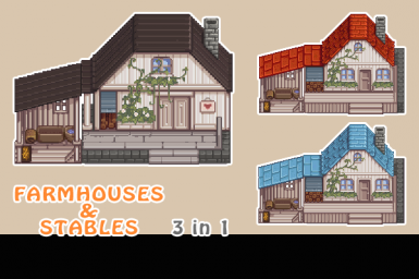 Farmhouses and Stable Appearance