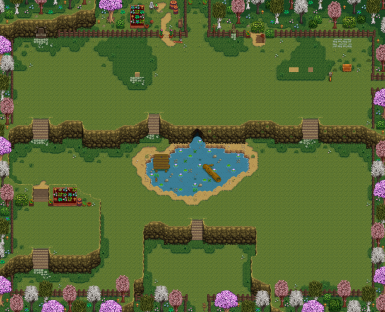 Ali's Flower Farm Map