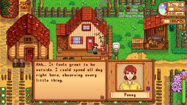 Penny Expanded Marriage Dialogue at Stardew Valley Nexus