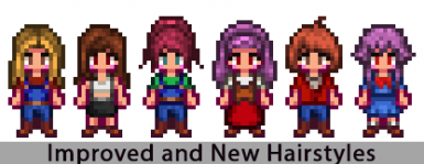 Improved and New Hairstyles