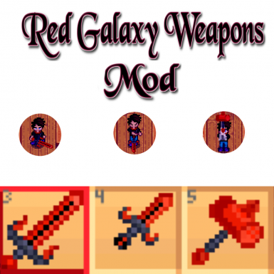 Red Galaxy Weapons