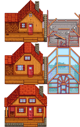 Consistent House Upgrades At Stardew Valley Nexus Mods And Community Can combine two rings into lost & found box at mayor lewis' house can be used to retrieve items like those left behind at the. stardew valley nexus mods