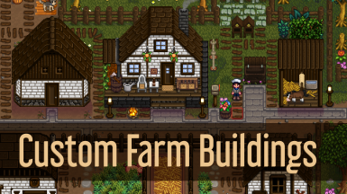 Custom Farm Buildings (non seasonal version)
