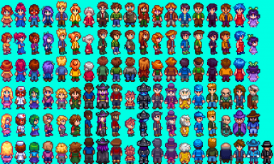 Slightly Cuter Character Sprites