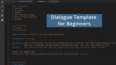Dialogue Template for Beginners