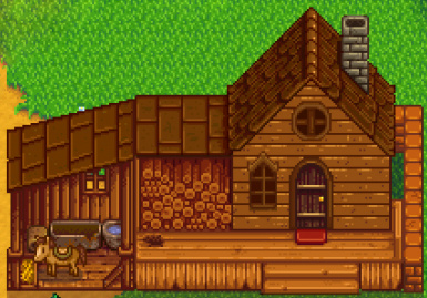 how to get a cabin stardew valley