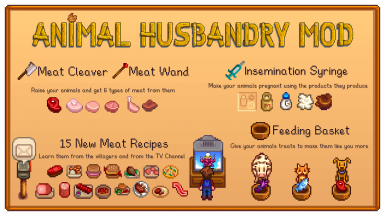 Animal Husbandry Mod (former ButcherMod)
