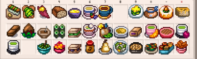 More food a collection of recipes at stardew valley nexus mods 4 items forumfinder Images