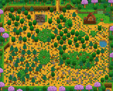 Standard Farm Map - South Pond Deleted