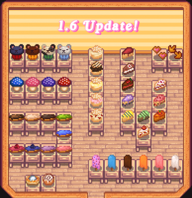 All items added or visually updated in 1.6