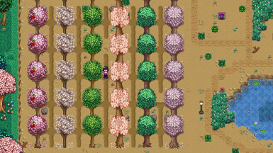 Blossom Trees v1.1 - Fruit Tree Recolors (Content Patcher Edition)