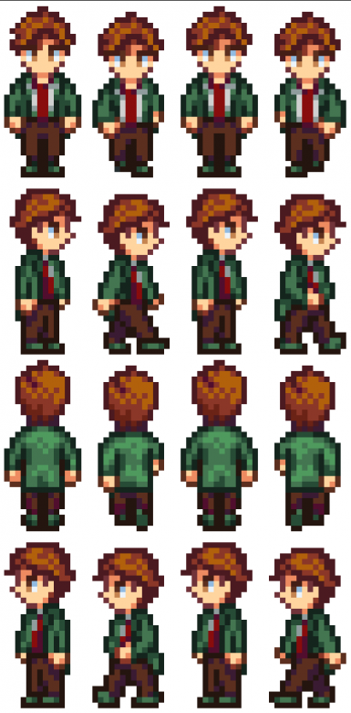No glasses or mustache Harvey Sprite