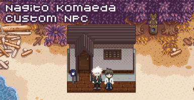 CustomNPCs Nagito Komaeda