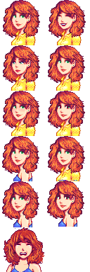 Curly haired penny