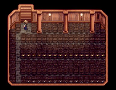 118 Casks are Easily Accessible
