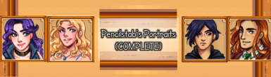 Pencilstab's Portraits (ALL PORTRAITS COMPLETED)