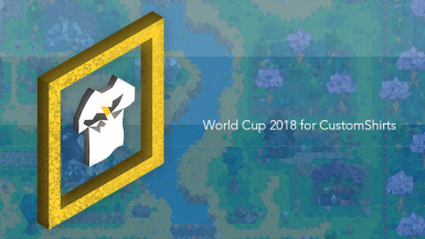 World Cup 2018 for Custom Shirts
