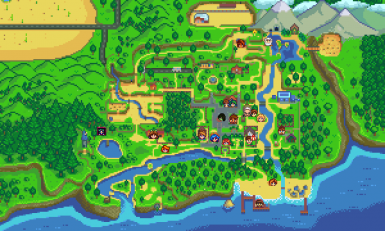 npc map locations at stardew valley nexus mods and community